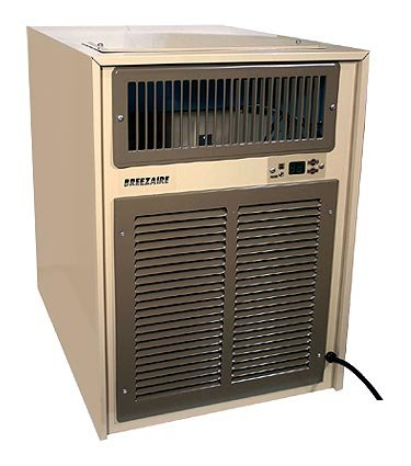 - Breezaire WKL 8000 Wine Cooling Unit - 2000 Cu. Ft. Wine Cellar
