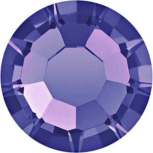 Swarovski 2028 Foiled Flatbacks SS9 Tanzanite No Hotfix Rhinestones, Choose Quantity (288) ()