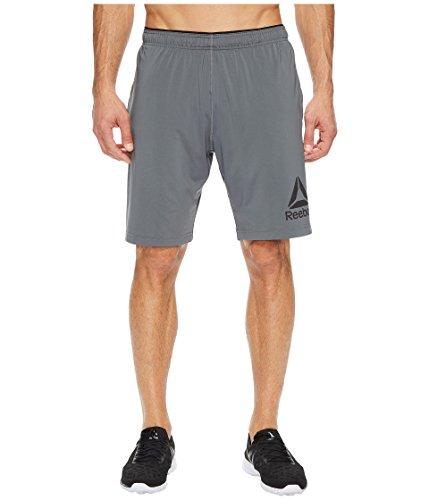 Reebok Speedwick Stretch Knit Shorts, XX-Large, Alloy