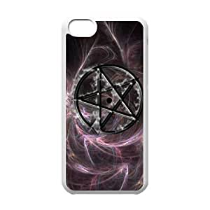 Clzpg New Fashion Iphone 5C Case - Five-pointed star diy cell phone case