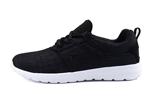 Loopt Kings Light Weight Go Easy Casual Walking Heren Sneaker R1908 Zwart / Wit