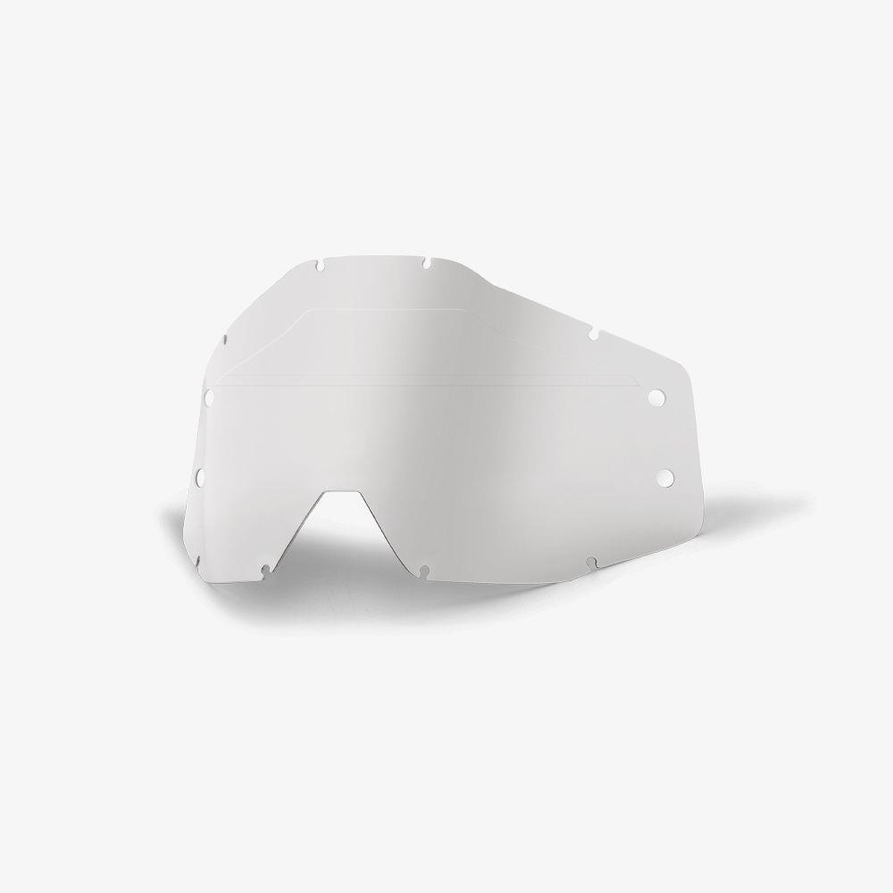 ACCURI Forecast Lens No Bumps-w//mud Visor-Clear, Free Size 100/% Unisex-Adult Speedlab 51121-510-01