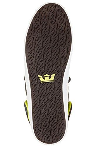 Supra Caballeros Sneakers FALCON Camo-Blanco