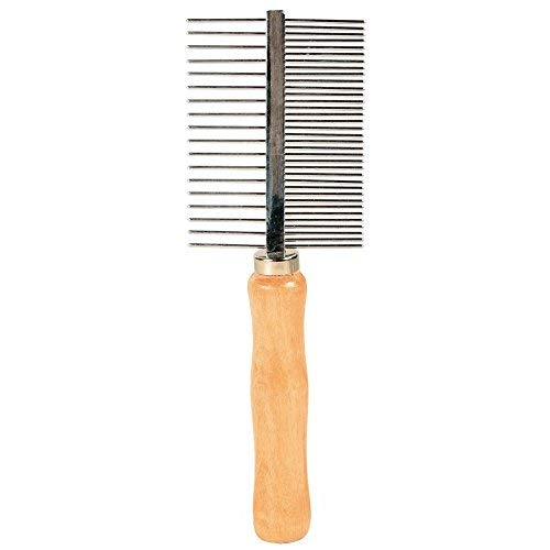 - Trixie Medium And Wide Teeth Double-sided Comb, 17cm