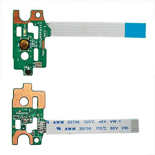 New Power Button Board With Cable DA0U83PB6E0 For HP Pavilion 14-N 14-N000 14-N200 15-N 15-F Series 14-N248CA 14-N019NR 14-N026LA 15-F003DX 15-F033WM 15-N011NR 15-F039WM 15-N020US 15-N023CL 732076-001 by for HP (Image #1)