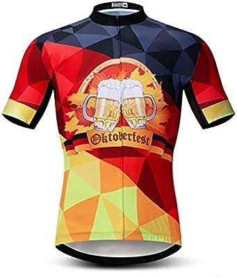 Maillot Ciclismo Hombres Ropa de Ciclismo Ciclistas Jersey ...