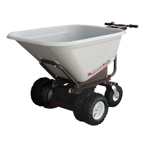 Snap-Loc 7 cu ft. All-Terrain Power Cart with 10 in. Airless Wheels