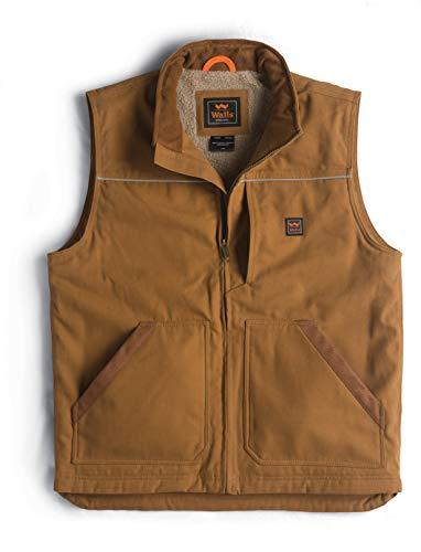 Walls Men's Tall Size Super Duck Lined Vest, Pecan, XXX - Duck Vest Sandstone