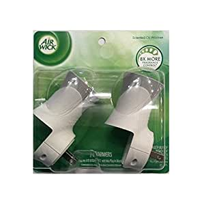 Air Wick Scented Oil Air Freshener Warmer, 2 Count (Pack of 6)