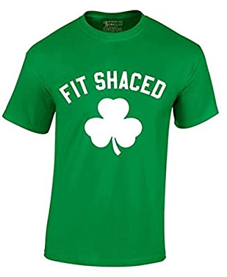 Awkwardstyles Fit Shaced T-shirt Beer Drunk Party Irish St Patrick's Day Shirt