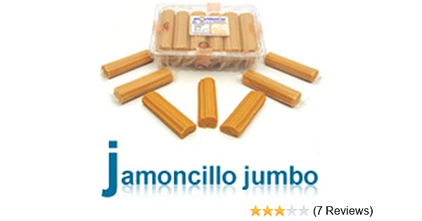 Amazon.com : Providencia Jamoncillo Jumbo Milk Candy Dulce De Leche 15 Big Pieces Net Weight 525 G From Mexico : Caramel Candy : Grocery & Gourmet Food