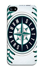 LarryToliver Super Star iphone 5/5s Case Cover for Customizable Baseball Seattle Mariners