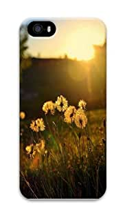 Dandelion evening under PC Case Cover for iPhone 5 and iPhone 5s 3D Thanksgiving Day gift by Maris's Diary