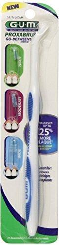 GUM Proxabrush Handle and Refills 1 Each - Assorted (Gum Brush)
