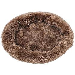 Topgee Fashion Cute Pet Plush Mat Winter Warm Cat Dog Cub Mat Pet Nest Resistance to Biting Mat