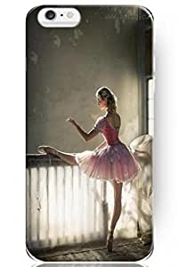 SPRAWL Hard Skin Iphone 6 (4.7) Case Cover Dacing Spirit Series -- Blonde Ballet Girl