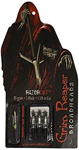 Grim Reaper Razorcut Broadhead - 85 (Punti Grim)