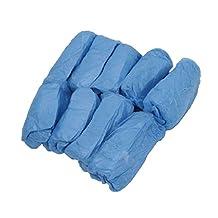 niceEshop(TM) 100Pcs Disposable Shoe Covers Carpet Cleaning Overshoe