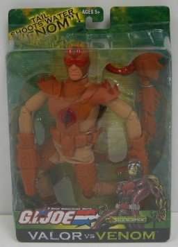 G.I. Joe Valor Vs Venom 12 Inch Tall Action Figure - Sand Scorpion with Claws, Leg Armor, Boots, Chest Armor and Scorpion Tail