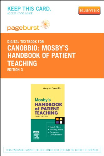 Mosby's Handbook of Patient Teaching - Elsevier eBook on VitalSource (Retail Access Card)