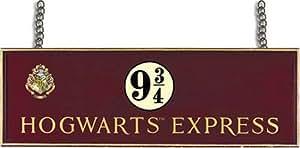Harry Potter: Hogwarts Express Platform 9 3/4 Wooden Sign