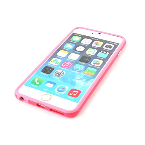 Iphone 6/6s Silicon Bumper Pink by G4GADGET®
