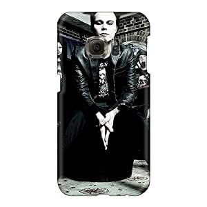 Samsung Galaxy S6 LqX13656mmXE Customized Colorful His Infernal Majesty Band HIM Skin High Quality Cell-phone Hard Covers -SherriFakhry