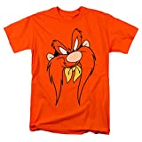 Looney Tunes Yosemite Sam Face T Shirt & Stickers (X-Large)