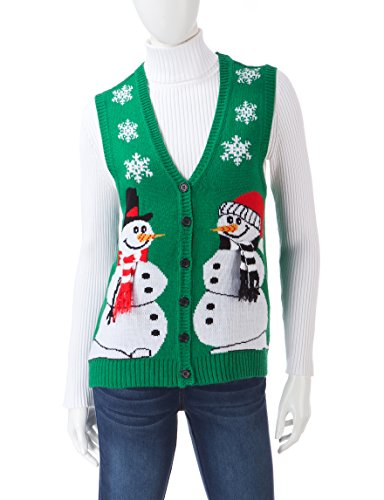 Holiday Snowman Sweater Vest
