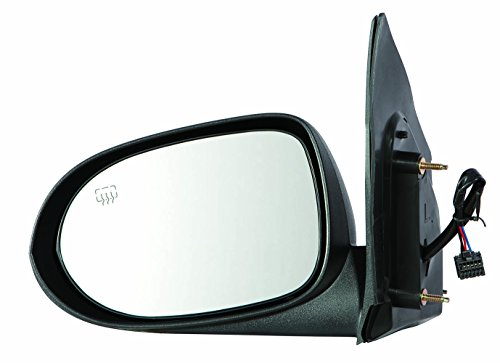 Depo 334-5421L3EFH Dodge Caliber Driver Side Power Heated Mirror (10-12 Non-Folded Textured) (Dodge Caliber Mirror Driver Side)