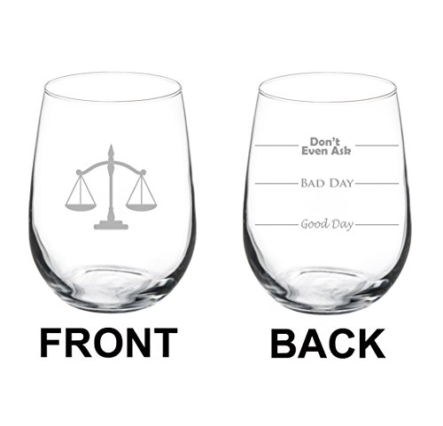 Stemless Scales Justice Paralegal Attorney product image