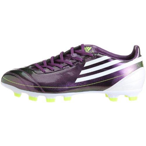 Adidas F10 TRX HG, - metalliclila-weiß-grün, 42