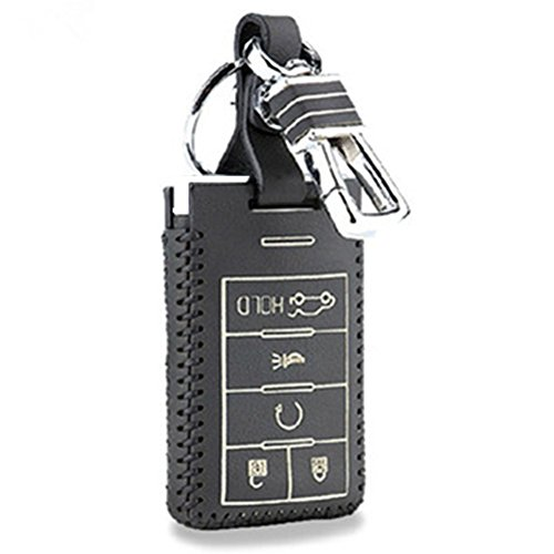 5-buttons-leather-key-fob-case-cover-key-holder-ring-protective-skin-for-2007-2008-2009-2010-2011-20