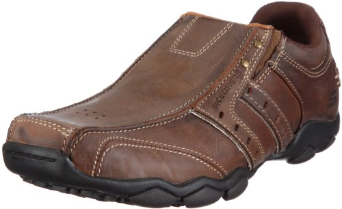 Skechers  Men's Diameter shoe,9 M US,Dark Brown