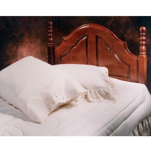 Cherry Twin Headboard Size (Hillsdale Furniture 200HTWR Cheryl Headboard with Rails, Twin, Cherry)