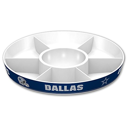 NFL Dallas Cowboys Party Platter, White