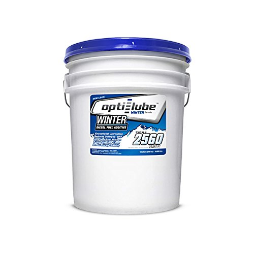 Opti-Lube Winter Formula Diesel Fuel Additive: 5 Gallon Pail without Accessories, Treats up to 2,560 Gallons of Diesel Fuel by Opti-Lube