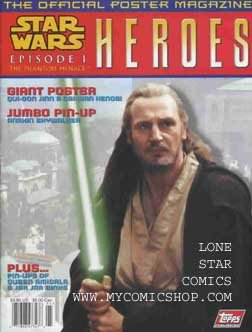 Star Poster Official Wars - Star Wars Episode 1 the Official Poster Magazine (Heroes, #1)