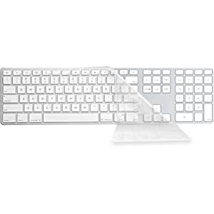 Y Clear Cover for Apple Ultra-Thin Keyboard with Num Pad (CV-AK-Clear-2)