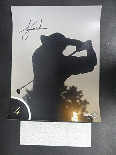 Tiger Woods Autographed Signed Memorabilia 12.5X16.5 Top Ten Shots #4 Photo Autograph Auto Uda Baj39385 - Certified Authentic
