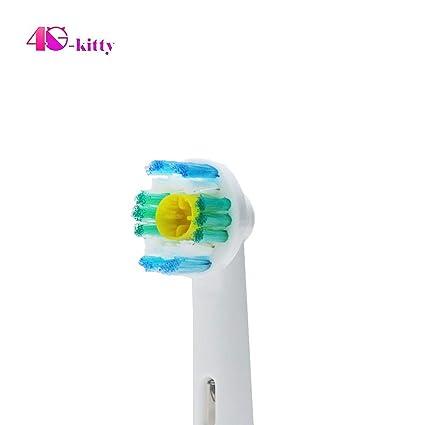 12 cabezales de cepillo de dientes 3D blanco EB-18A para Oral B Pack de