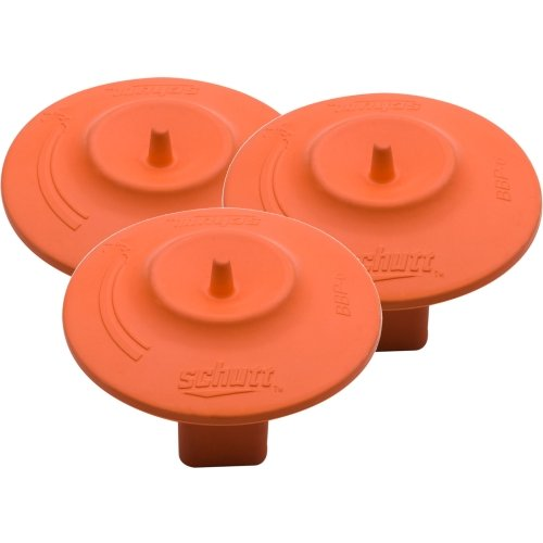 Schutt Base Anchor Mushroom Plugs - Set Of 3