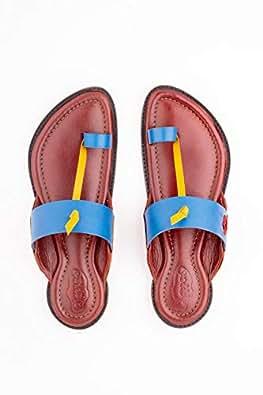 Chappers ME Blue Slides Slipper For Men