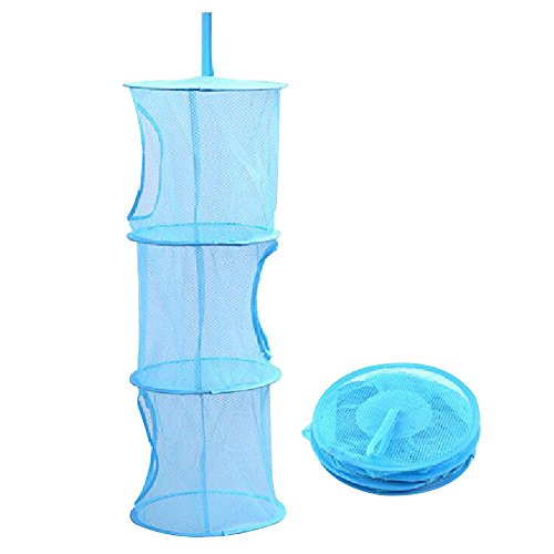 Kaimao-Hanging-Mesh-Space-Saver-Bags-Organizer-3-Compartments-Toy-Storage-Basket-for-Kids-Room-Organization