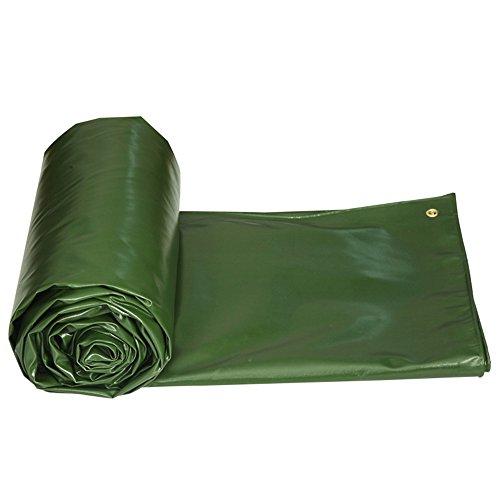 COZY HOME AAA Tarpaulin, waterproof sunscreen For outdoor patio swimming pool farm picnic blanket Rain cloth size: 23m (green) (Size : 46m)