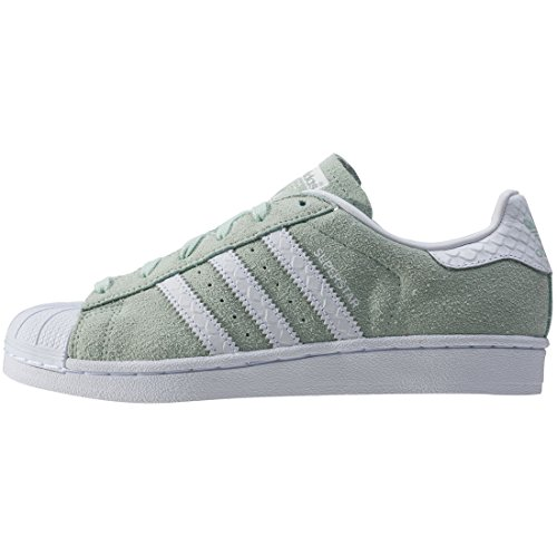 Vert Superstar Mode Basket Adidas S76148 Femme 1FqS7x