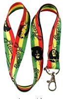 Bob Marley Keychain Lanyard