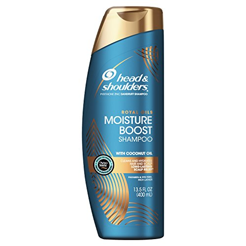 - Head and Shoulders, Shampoo, Anti Dandruff, Royal Oils Collection with Coconut Oil, for Natural and Curly Hair, 13.5 fl oz