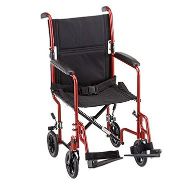 Lightweight Folding Transport Chair Wheelchair by NOVA Medical 19
