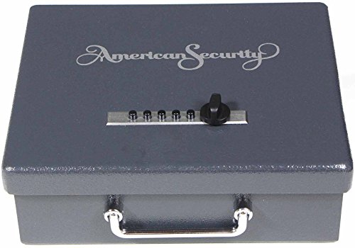 American Security Amsec PS1210HD Heavy Duty Pistol Storage Box